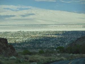 Palm Springs, vihreää keskellä kuivuutta