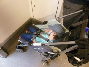 Päiväunet Bukarestin metrossa